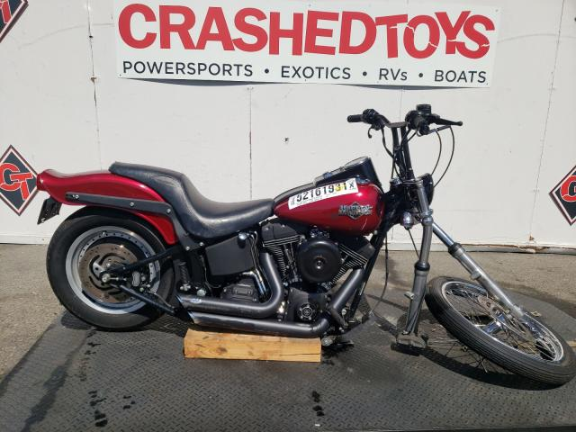 Salvage cars for sale from Copart Van Nuys, CA: 2004 Harley-Davidson Fxstb