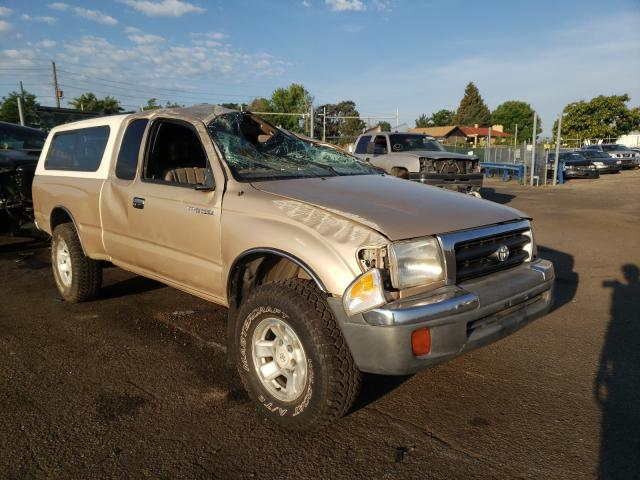 Salvage cars for sale from Copart Denver, CO: 1999 Toyota Tacoma XTR