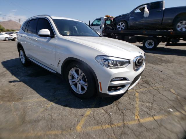 BMW X3 salvage cars for sale: 2018 BMW X3