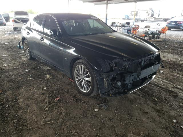 Infiniti salvage cars for sale: 2018 Infiniti Q50 Luxe