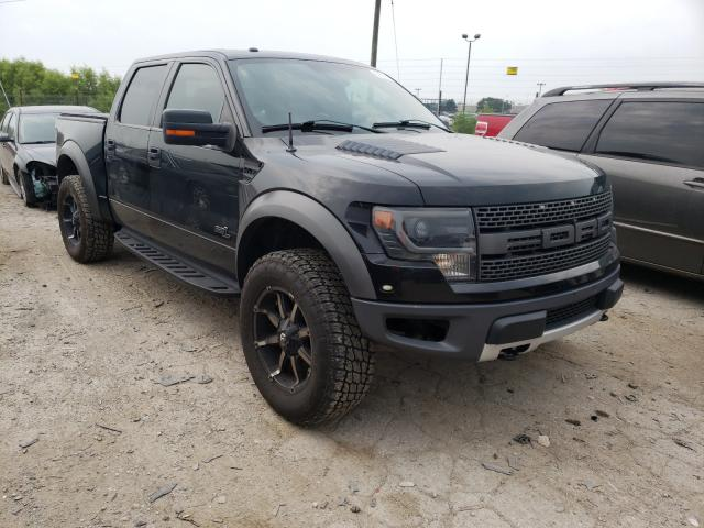 Salvage cars for sale from Copart Indianapolis, IN: 2013 Ford F150 SVT R