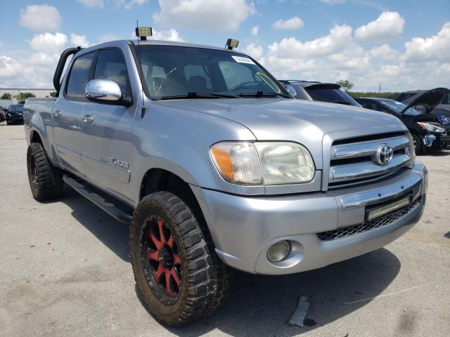 Salvage cars for sale from Copart Orlando, FL: 2005 Toyota Tundra DOU