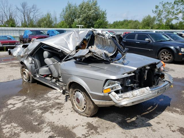 Lincoln Continental salvage cars for sale: 1987 Lincoln Continental
