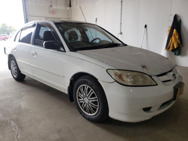 Salvage cars for sale from Copart Lexington, KY: 2004 Honda Civic LX