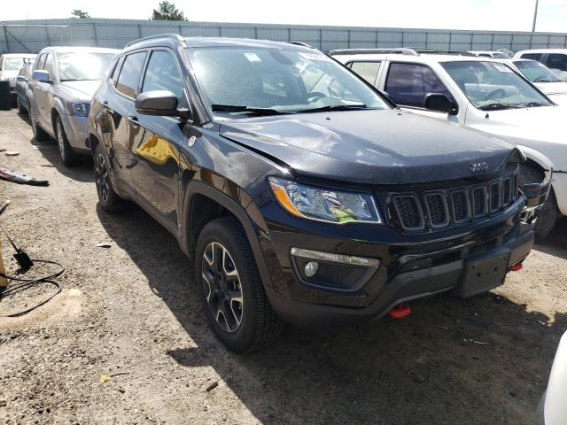 Salvage cars for sale from Copart Albuquerque, NM: 2020 Jeep Compass TR