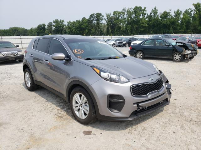 KIA Vehiculos salvage en venta: 2019 KIA Sportage L
