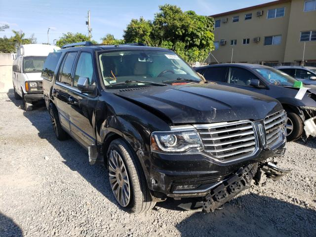 Salvage cars for sale at Opa Locka, FL auction: 2015 Lincoln Navigator