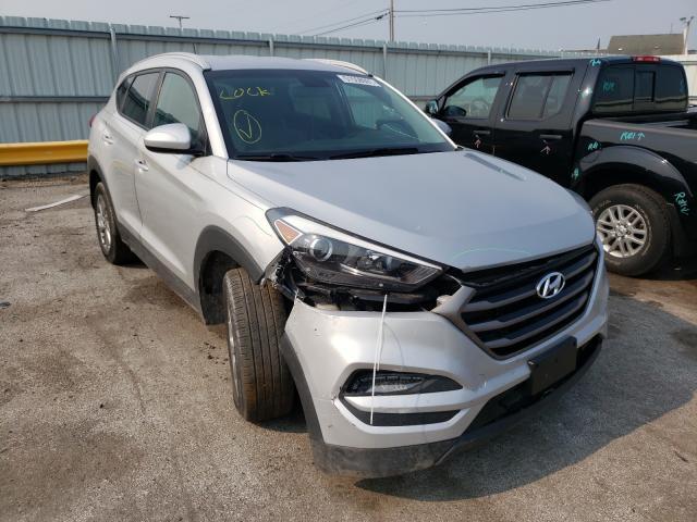 Vehiculos salvage en venta de Copart Dyer, IN: 2016 Hyundai Tucson Limited