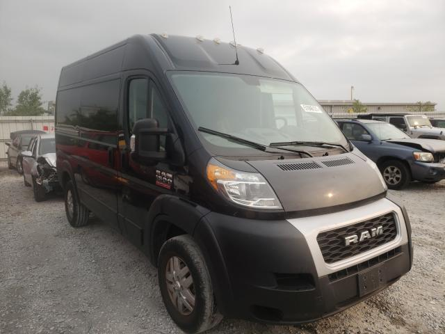 Salvage cars for sale from Copart Walton, KY: 2019 Dodge RAM Promaster