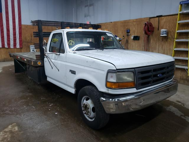 Salvage cars for sale from Copart Kincheloe, MI: 1995 Ford F350
