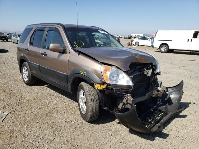 Salvage cars for sale from Copart San Diego, CA: 2002 Honda CR-V EX