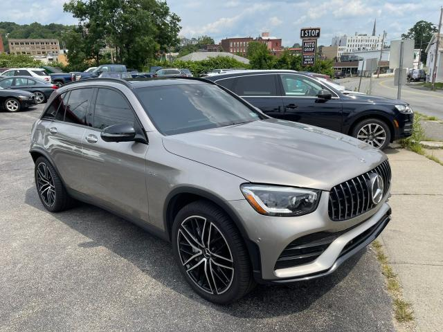 Salvage cars for sale from Copart Billerica, MA: 2020 Mercedes-Benz GLC 43 4matic