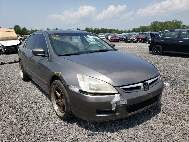 Salvage cars for sale from Copart Fredericksburg, VA: 2007 Honda Accord EX