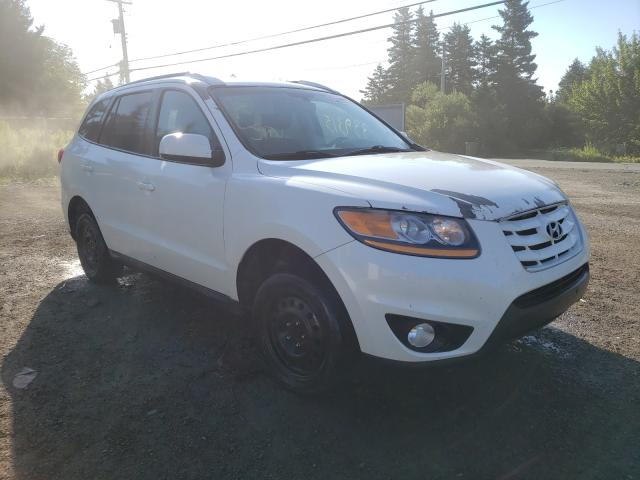 Salvage cars for sale from Copart Cow Bay, NS: 2010 Hyundai Santa FE G