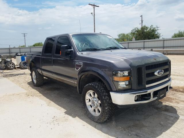 Salvage cars for sale from Copart Abilene, TX: 2008 Ford F250 Super