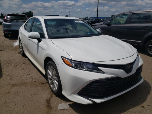 Toyota salvage cars for sale: 2020 Toyota Camry LE