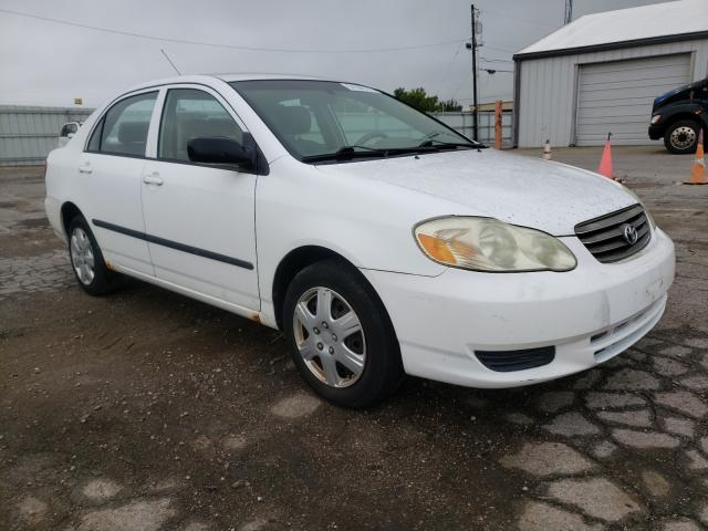 Toyota salvage cars for sale: 2004 Toyota Corolla CE