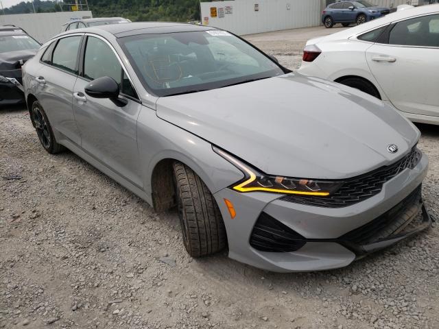 KIA salvage cars for sale: 2021 KIA K5 GT Line