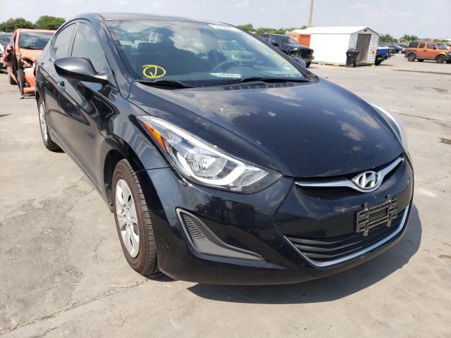 Vehiculos salvage en venta de Copart Grand Prairie, TX: 2016 Hyundai Elantra SE
