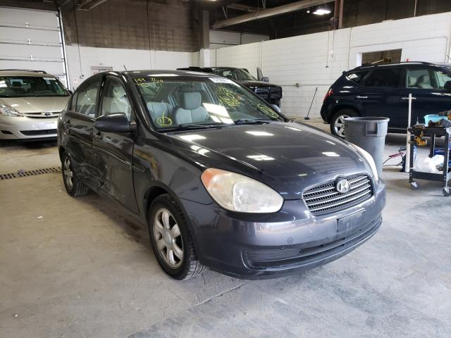 Salvage cars for sale from Copart Blaine, MN: 2006 Hyundai Accent GLS