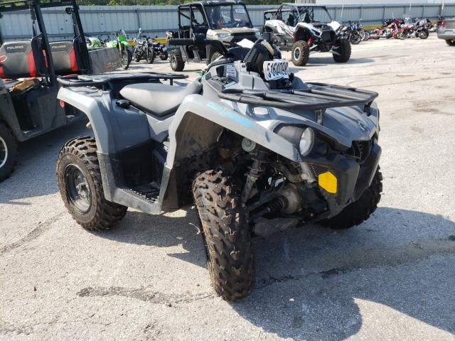 Salvage motorcycles for sale at Rogersville, MO auction: 2021 Can-Am Outlander
