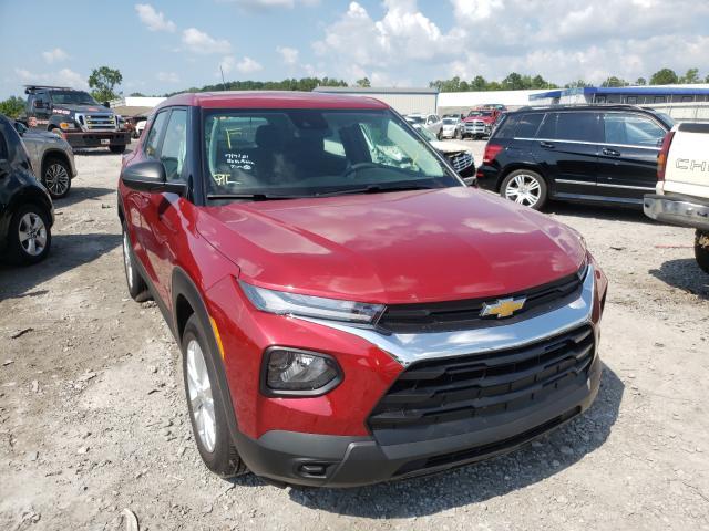 Chevrolet salvage cars for sale: 2021 Chevrolet Trailblazer