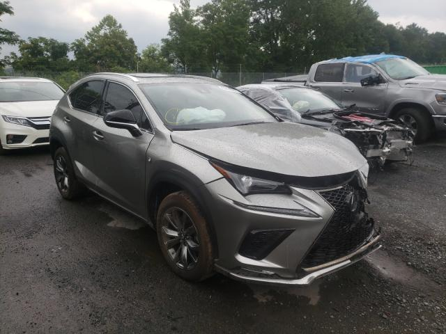 Salvage cars for sale from Copart Marlboro, NY: 2021 Lexus NX 300 Base