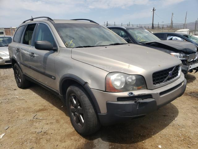 Salvage cars for sale from Copart San Martin, CA: 2003 Volvo XC90 T6