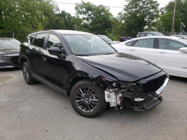 Salvage cars for sale from Copart Marlboro, NY: 2021 Mazda CX-5 Touring