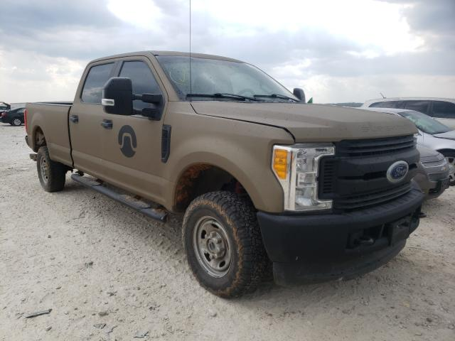 Salvage cars for sale from Copart New Braunfels, TX: 2017 Ford F250 Super