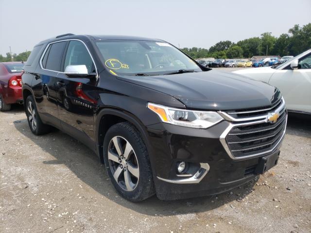 Salvage cars for sale from Copart Alorton, IL: 2018 Chevrolet Traverse L