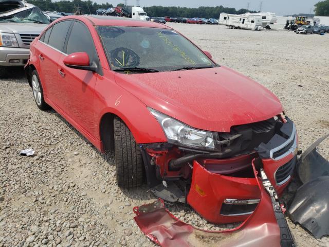 Salvage cars for sale at Memphis, TN auction: 2015 Chevrolet Cruze LTZ