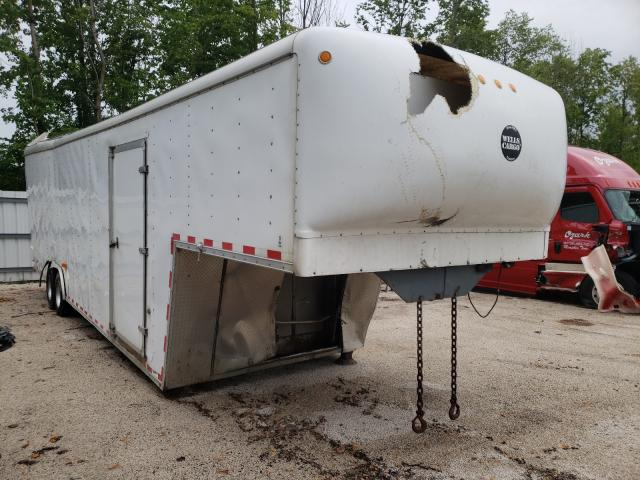 Salvage cars for sale from Copart Milwaukee, WI: 2013 Wells Cargo Trailer