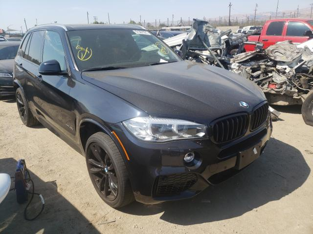 Salvage cars for sale from Copart San Martin, CA: 2017 BMW X5 XDRIVE4