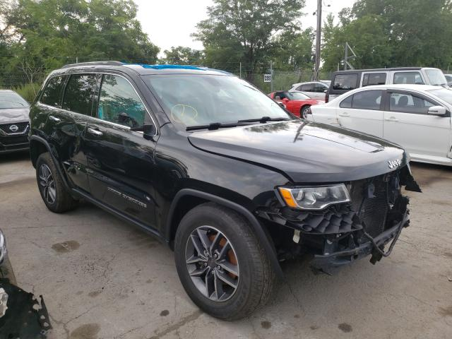 Salvage cars for sale from Copart Marlboro, NY: 2019 Jeep Grand Cherokee