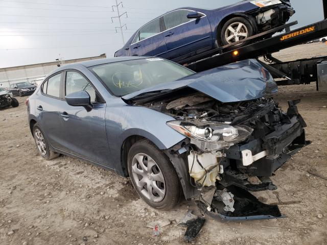 Salvage cars for sale from Copart Columbus, OH: 2014 Mazda 3 Sport