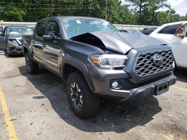 Salvage cars for sale from Copart Eight Mile, AL: 2020 Toyota Tacoma DOU
