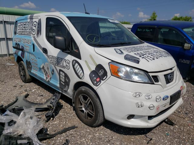 Salvage trucks for sale at Houston, TX auction: 2015 Nissan NV200 2.5S