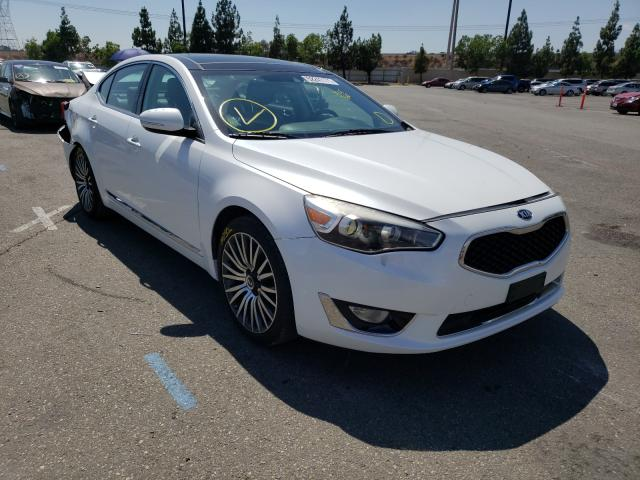 Salvage cars for sale from Copart Rancho Cucamonga, CA: 2014 KIA Cadenza PR