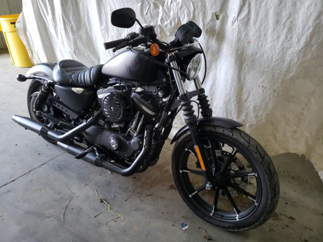 Salvage motorcycles for sale at Chatham, VA auction: 2020 Harley-Davidson XL883 N