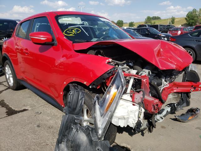 Nissan Vehiculos salvage en venta: 2016 Nissan Juke S