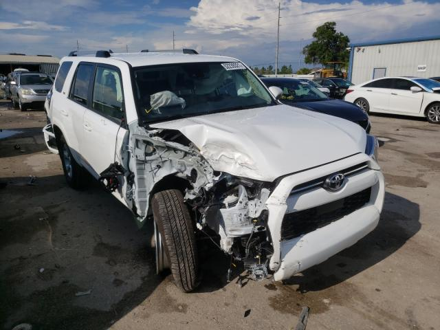Salvage cars for sale from Copart Riverview, FL: 2021 Toyota 4runner SR