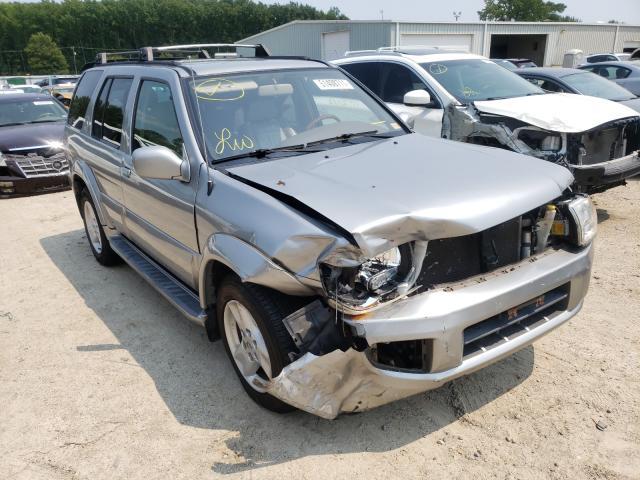 Infiniti QX4 salvage cars for sale: 2001 Infiniti QX4