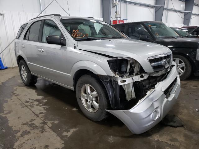 KIA salvage cars for sale: 2009 KIA Sorento LX