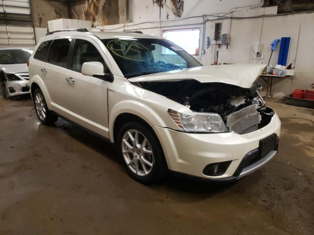 Salvage cars for sale from Copart Casper, WY: 2013 Dodge Journey CR