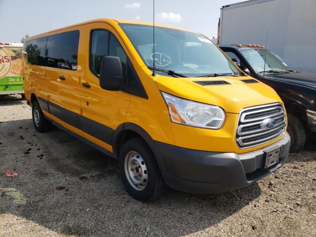 Salvage cars for sale from Copart Columbus, OH: 2016 Ford Transit T