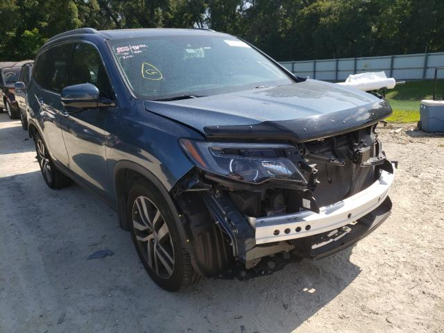 Salvage cars for sale from Copart Ocala, FL: 2017 Honda Pilot Touring