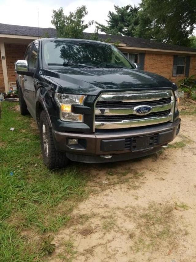 Salvage cars for sale from Copart Hueytown, AL: 2015 Ford F150 Super