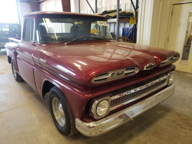 Vehiculos salvage en venta de Copart Oklahoma City, OK: 1961 Chevrolet C10
