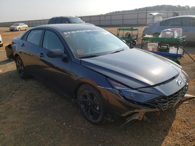 Salvage cars for sale from Copart Longview, TX: 2021 Hyundai Elantra SE